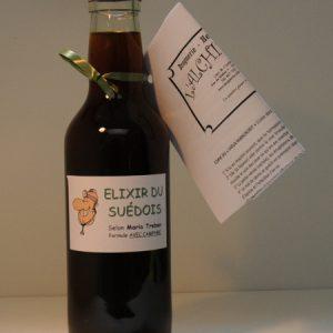 Elixir du Suédois avec ou sans camphre